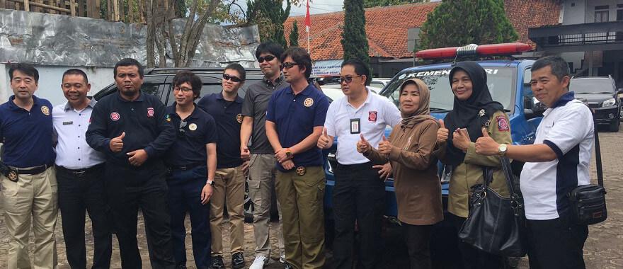 インドネシア社会省との連携
